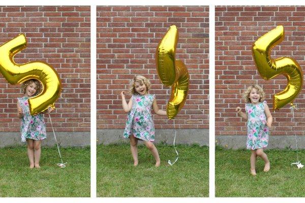 5 års fødselsdag og Barbie
